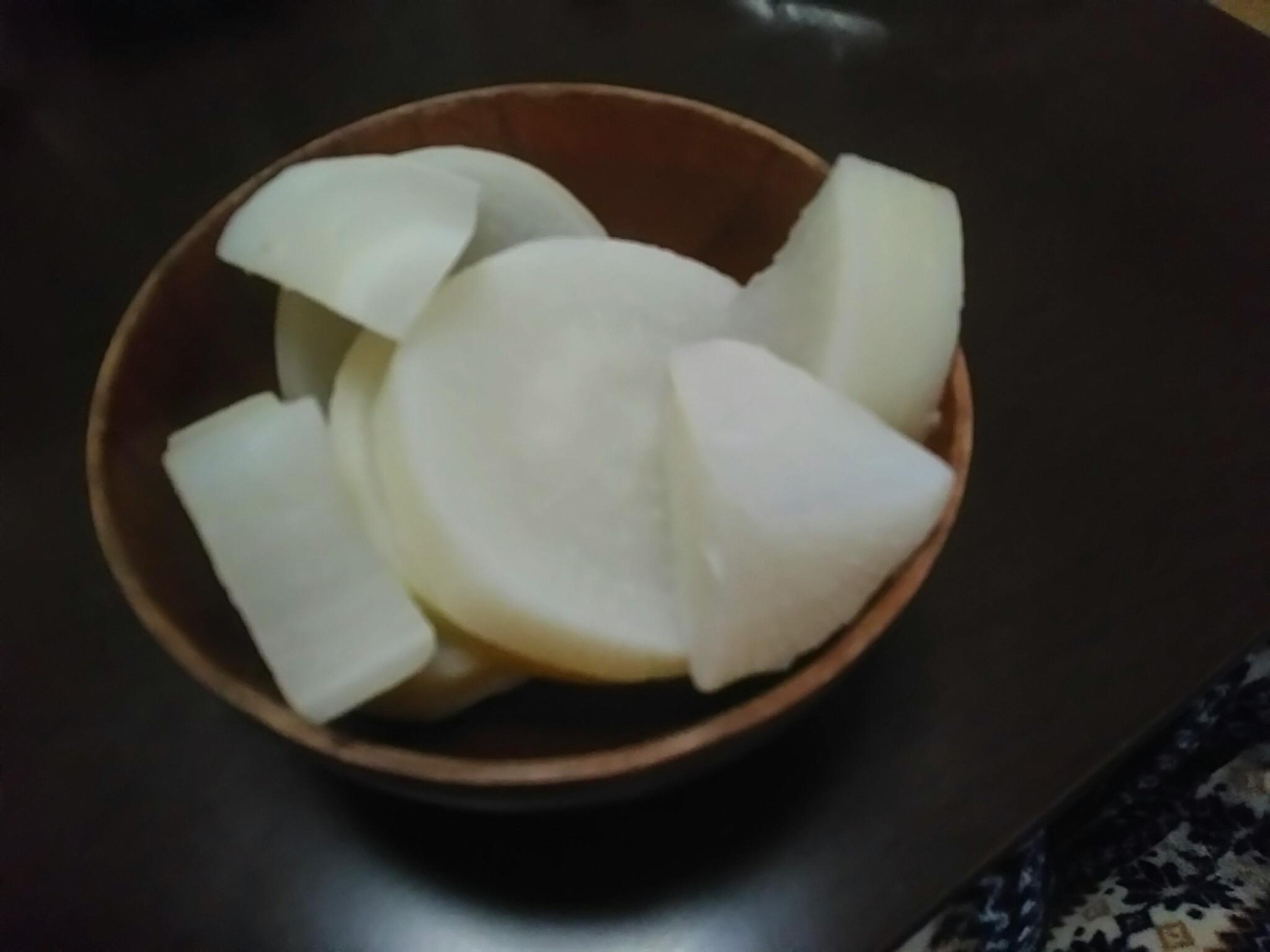 打木源助大根の食味試験